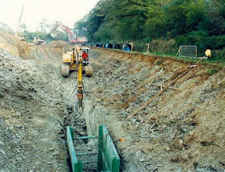 Deep-excavation-for-Burrator-pipeline